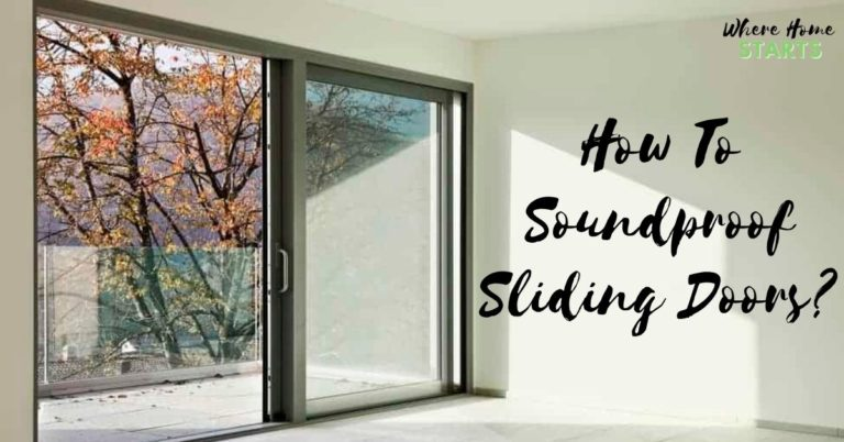 How To Soundproof Sliding Doors Soundproofing 101